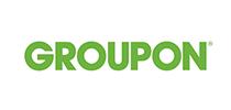 Logo van Groupon, klant van Wijvan010