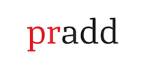 Logo van Pradd, klant van Wijvan010