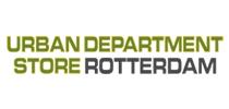 Logo van Urban Department Store Rotterdam, klant van Wijvan010