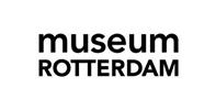 Logo van Museum Rotterdam, klant van Wijvan010