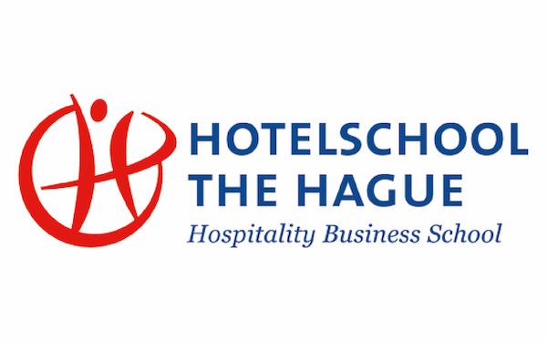 Logo Hogeschool The Hague, klant van Wijvan010